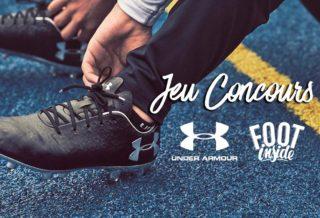 Jeu Concours : Under Armour X Foot Inside