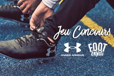 Jeu Concours Under Armour X Foot Inside