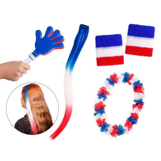 Kit Supporter France pas cher 5 Accessoires