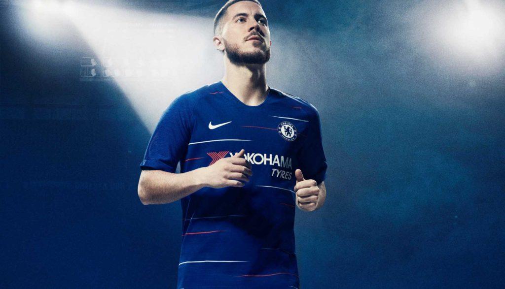 Détails du maillot domicile de Chelsea – Saison 2018-2019
