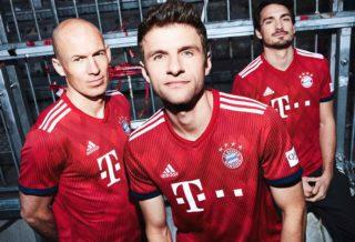 adidas présente le maillot du Bayern Munich saison 2018/2019