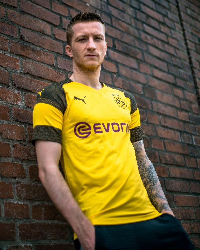 le maillot du Borussia Dortmund pour la saison 2018/19