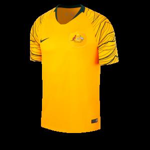 maillot domicile australie Mondial 2018