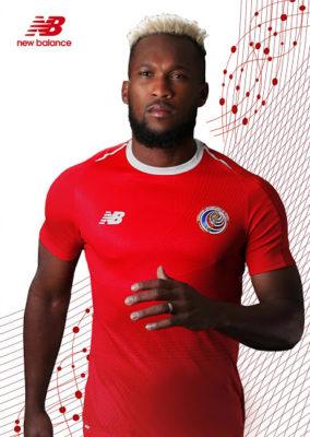 maillot domicile Costa Rica Coupe du Monde 2018