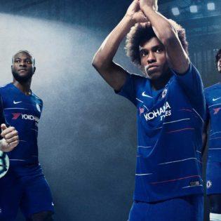 Chelsea le nouveau maillot domicile pour la saison 2018/19 dévoilé