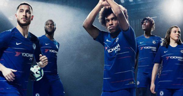 maillot foot Chelsea FC domicile 2018-2019