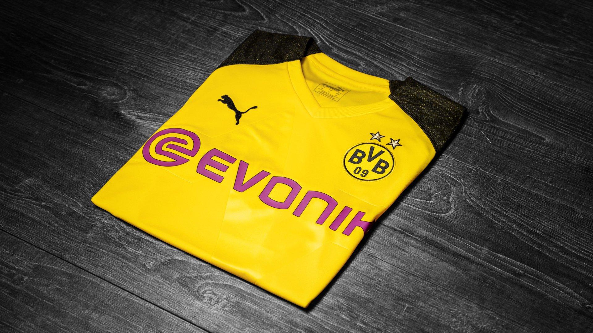 maillot domicile du Borussia Dortmund pour la saison 2018/19