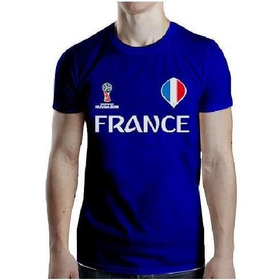 T-Shirt FRANCE Homme pas cher - Coupe du Monde 2018
