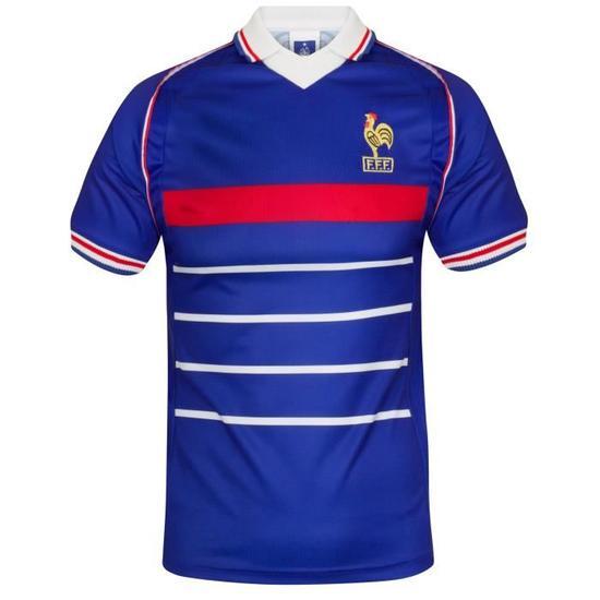 Maillot rétro de l'équipe de France - Coupe du monde 1998