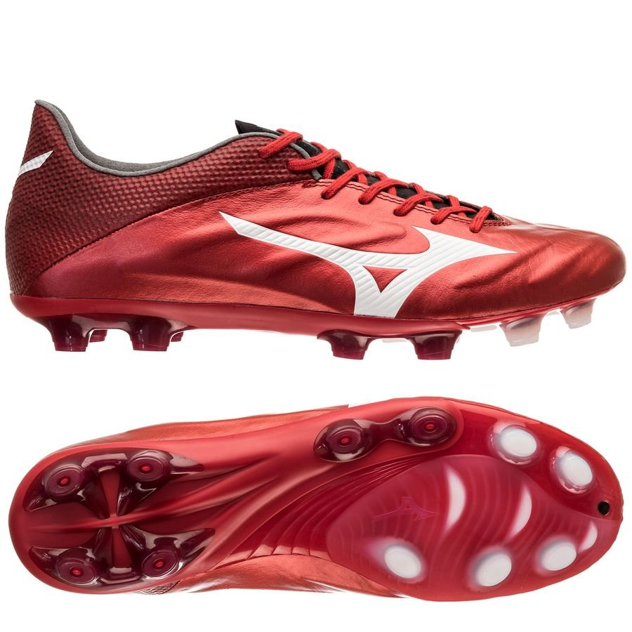 Chaussure de football Mizuno Rebula II V1 Made in Japan Red Passion Pack