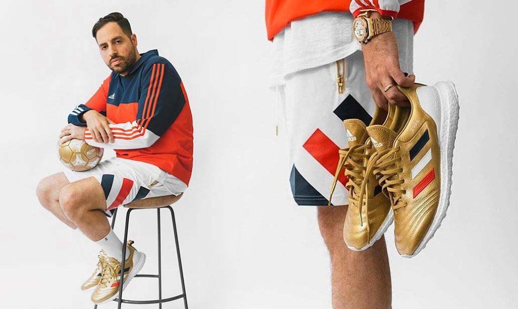 KITH X adidas Football Chapitre 3 Golden Goal