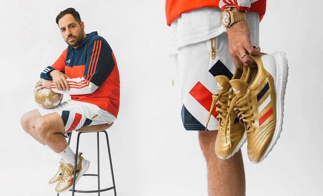 meet dd997 0ef14 KITH X adidas Football Chapitre 3 Golden Goal