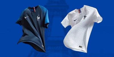 Livraison Express du Maillot de l'équipe de France de Football en 1 heure sur Paris