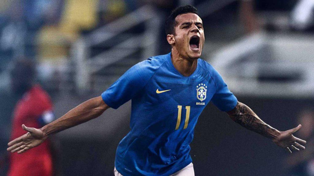 Le Maillot extérieur du Brésil élu le plus beau de la Coupe du Monde 2018