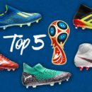 Top 5 des plus belles chaussures de la Coupe du Monde 2018