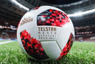 adidas Telstar 18 Mechta, le ballon de la phase finale de la Coupe du Monde