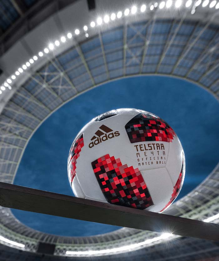 Ballon de foot adidas Telstar 18 Mechta