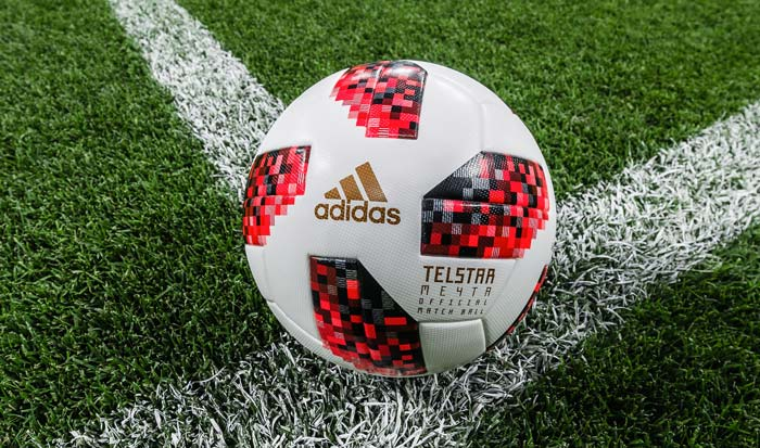adidas telstar 18 mechta le ballon de la phase finale de la coupe du monde foot inside. Black Bedroom Furniture Sets. Home Design Ideas