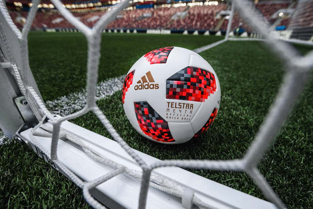 Ballon de foot adidas Telstar 18 Mechta - Coupe du Monde 2018