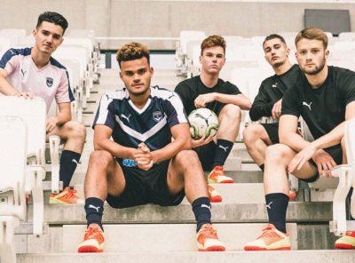 Nouveaux Maillots Girondins de Bordeaux - Saison 2018-2019 par Puma
