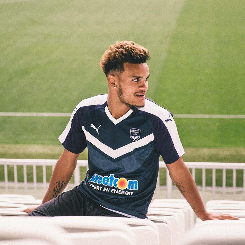 Maillot Domicile Girondins-Bordeaux 2018-2019 Puma