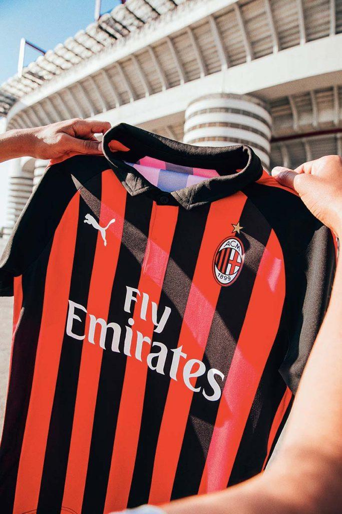 maillot Milan AC Puma Football 2018-2019