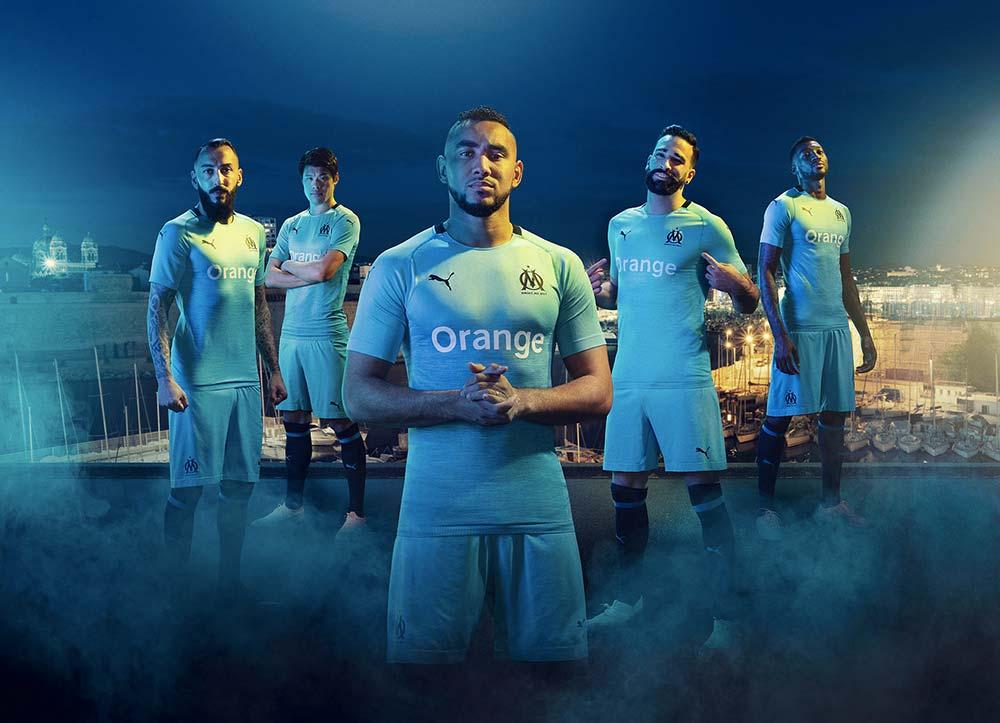 Maillot OM Thrid Olympique de Marseille - Puma Football - Saison 2018-2019