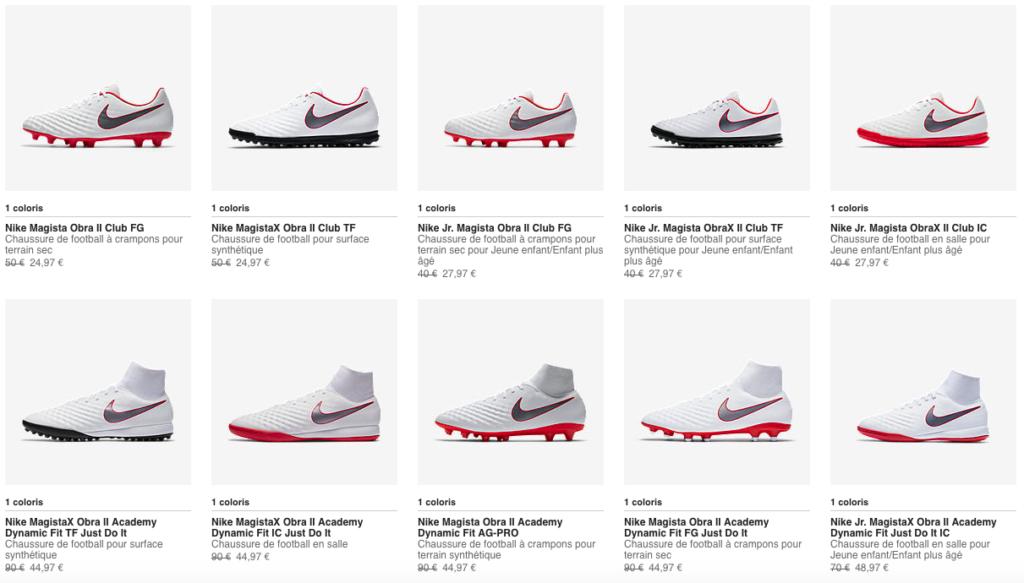 Nike Magista Promotion à -50%