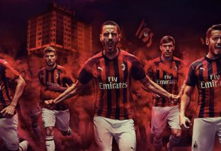 Puma dévoile le nouveau maillot du Milan AC 2018-2019