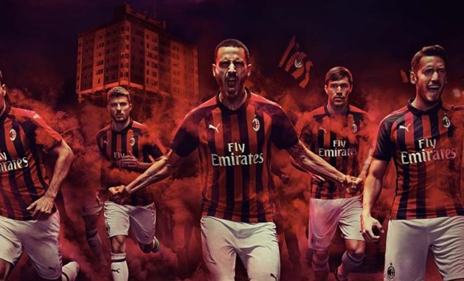 Nouveau maillot Milan AC Puma Football - 2018-2019