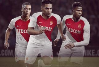 Nouveaux Maillot AS Monaco 2018-2019