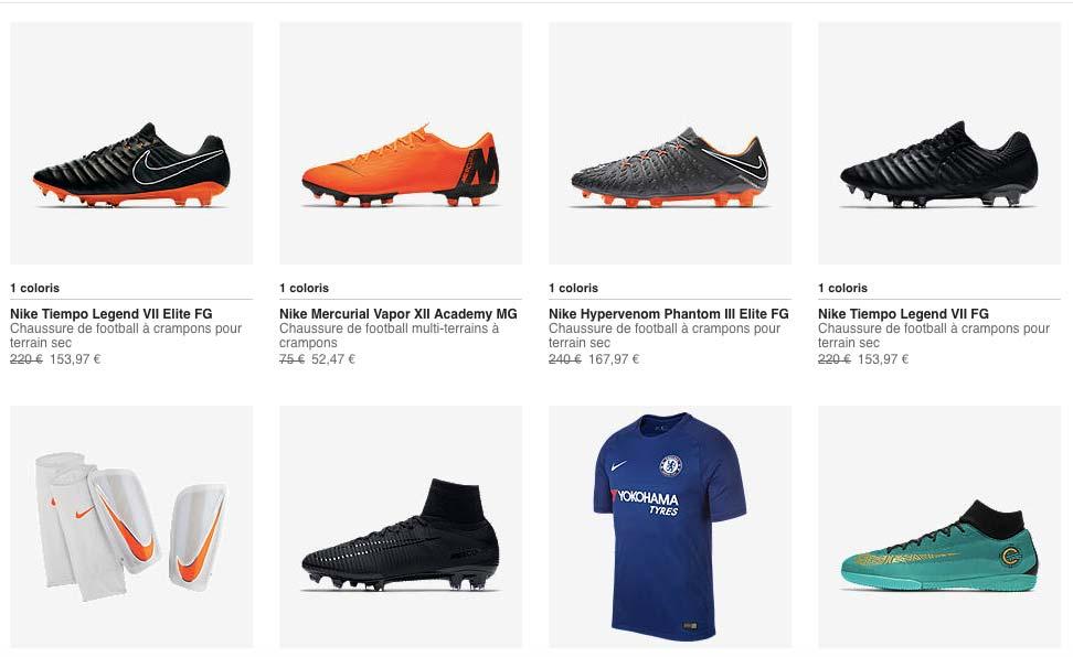 Solde Nike Football - Ete 2018