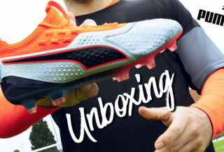 Unboxing Chaussure Puma ONE UpRising Pack- Foot-Inside