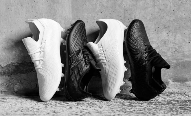 New Balance Football Black White Pack