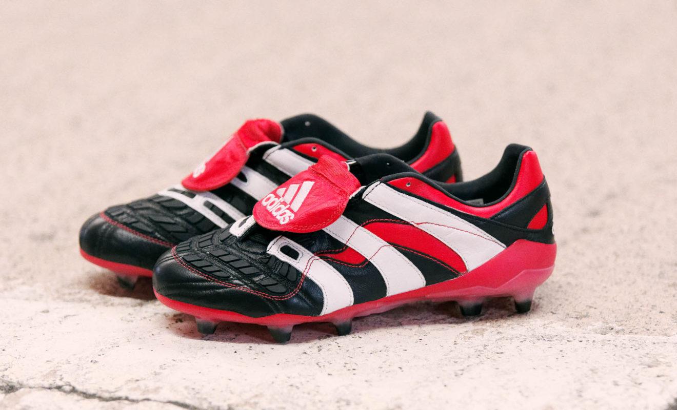La chaussure de foot adidas Predator Accelerator 1998 est de