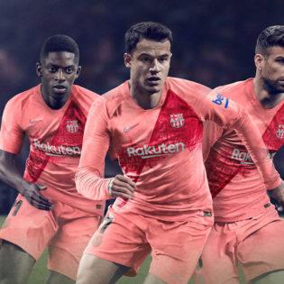 Le 3ème maillot du FC Barcelone est audacieux - Saison 2018/19