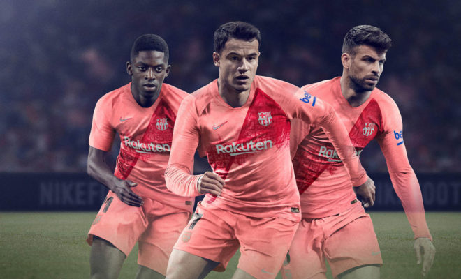 3eme maillot FC barcelone 2018-19