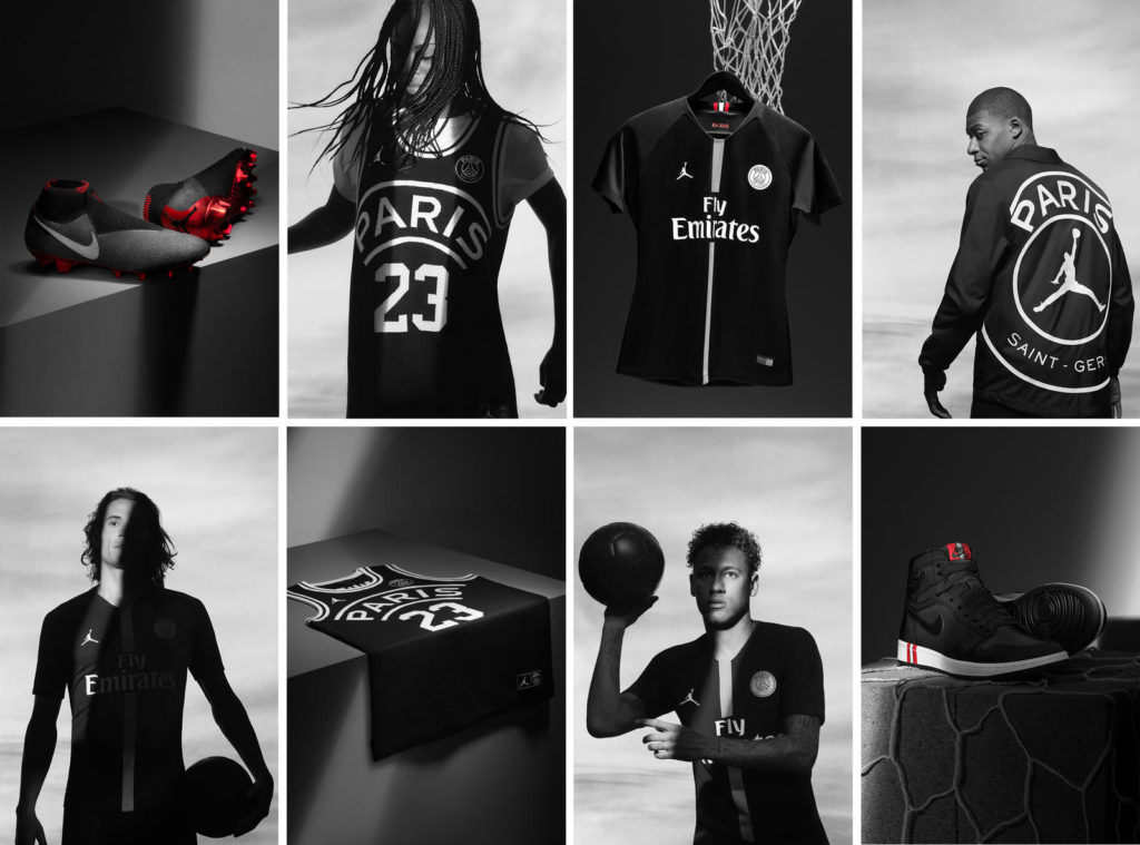 Collection Jordan X PSG 2018-2019
