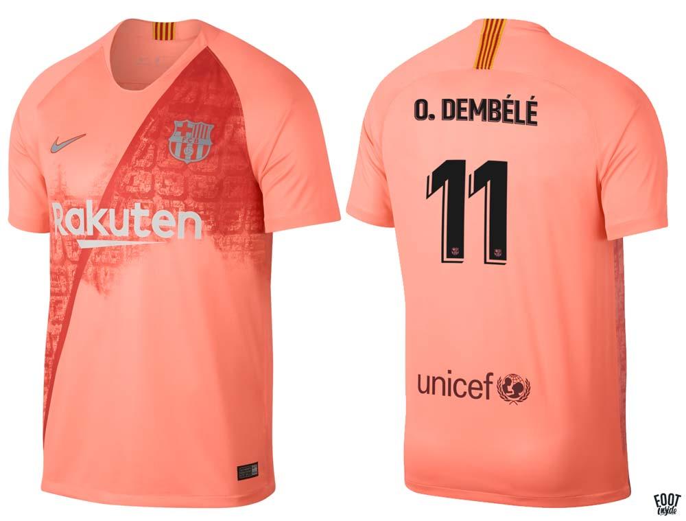 FC Barcelone Maillot Third saison 2018-2019