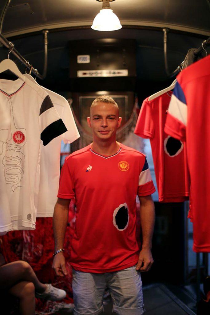 Le coq sportif dévoile les nouveaux maillots de l'AS VELASCA
