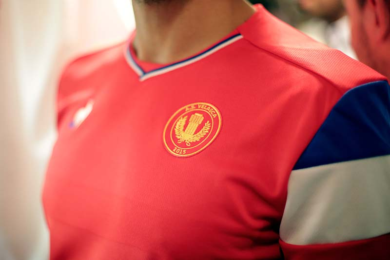 nouveaux maillots de l'AS VELASCA 2018