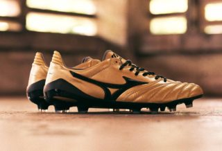 "Mizuno Morelia Neo II Made In Japan ""Gold/Black"""