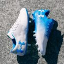 chaussure under armour football blue circuit pack