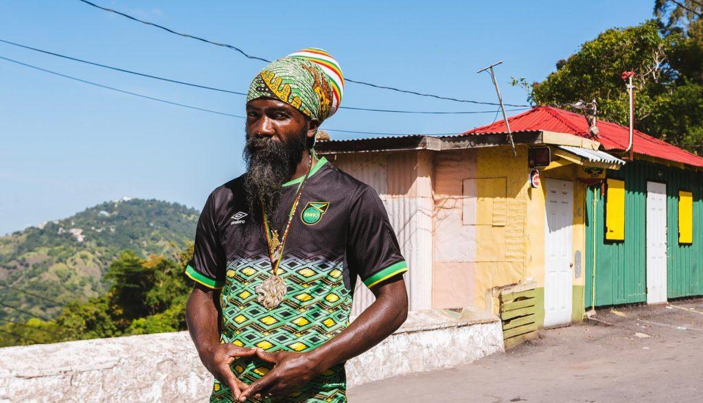 maillot foot jamaique umbro 2018-19