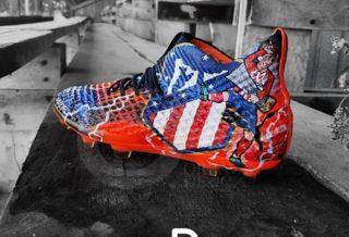 Les chaussures de foot d'Antoine Griezmann personnalisées par Orravan Design