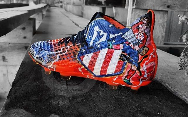 7cd54926f04e6 Les chaussures de foot d Antoine Griezmann personnalisées par ...