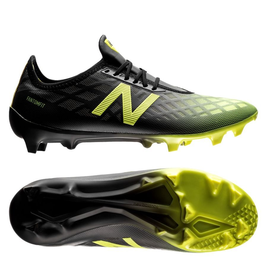 New Balance Furon 4.0 Pro FG Horizon noir jaune