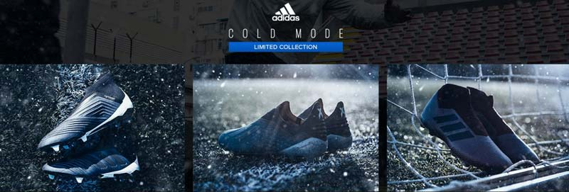 chaussures adidas football cold mode