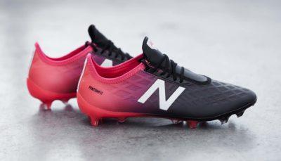 Chaussure de foot New Balance Furon 4.0 Bright Cherry Black