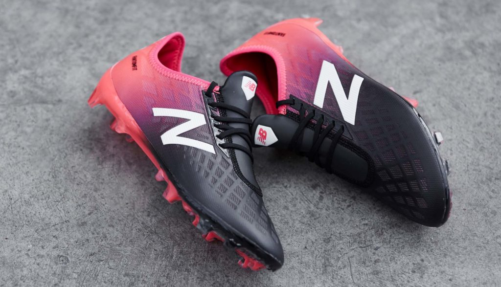 Chaussure de foot New Balance Furon 4 Bright Cherry Black